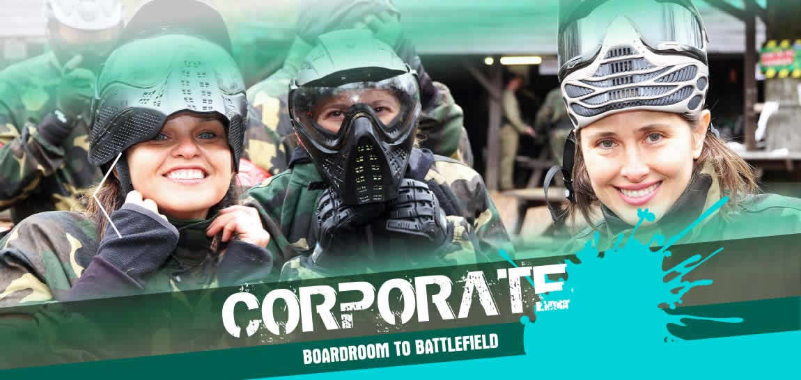 Paintball London Corporate Events