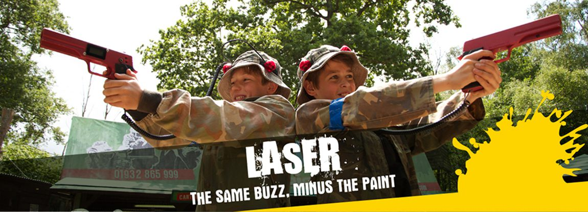 Laser Tag parties near London