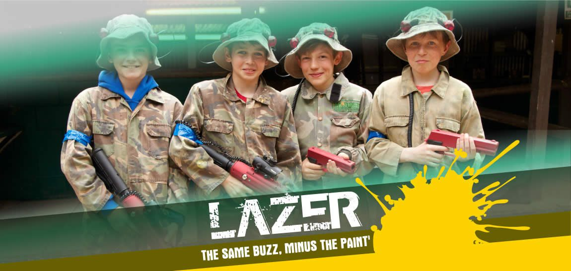 Lazer Tag and Outdoor Lazer events near London, Surrey