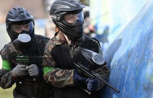 Mini paintball for 8-10 year olds