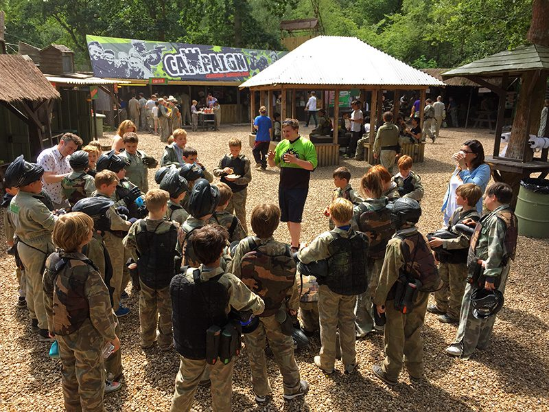 instruction paintball rules - Paintball party