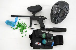 mini paintball paintball gear - low impact so it's fun for all
