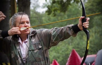 Archery - Corporate event including paintball and Lasertag