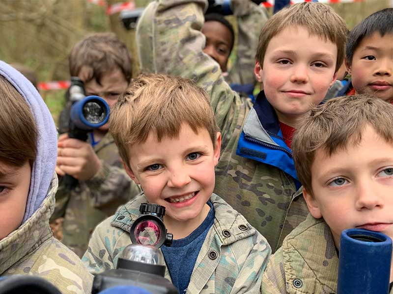 Laser tag 'The best birthday party ever!'